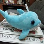 Playtoons Dolphin Soft Toy-Dolphin soft toy-By sonisejwal