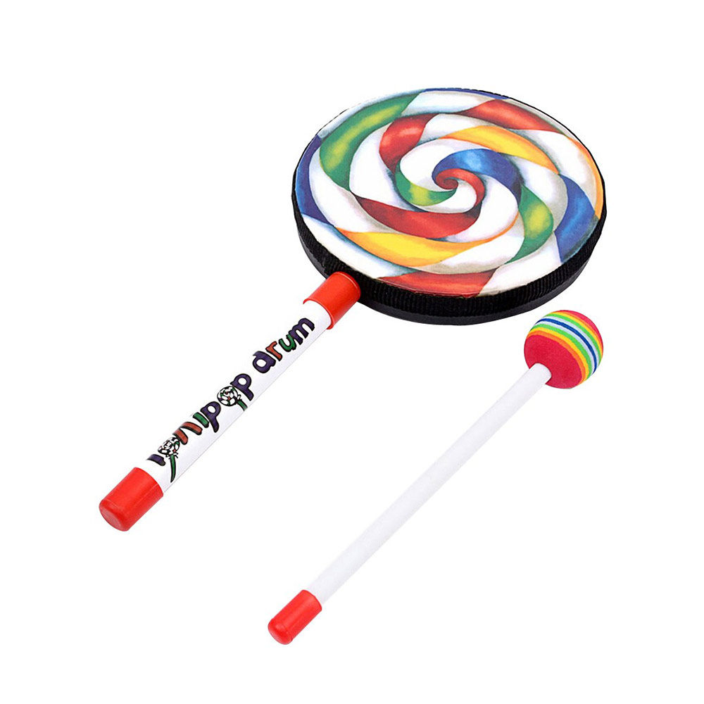 boutique Lollipop Shape Music Drum Toy