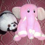 Deals India Elephant Soft Toy & Soft Ball-Elephant soft toy-By dharanirajesh16