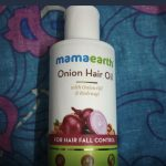 Mamaearth Onion Hair Oil-Mamaearth onion hair oil for hair-By sonisejwal
