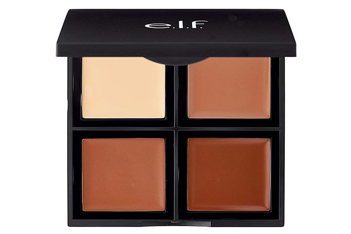e.l.f. Cream Contour Palette, Bronzer, Highlighter & Shader 0.43 oz.