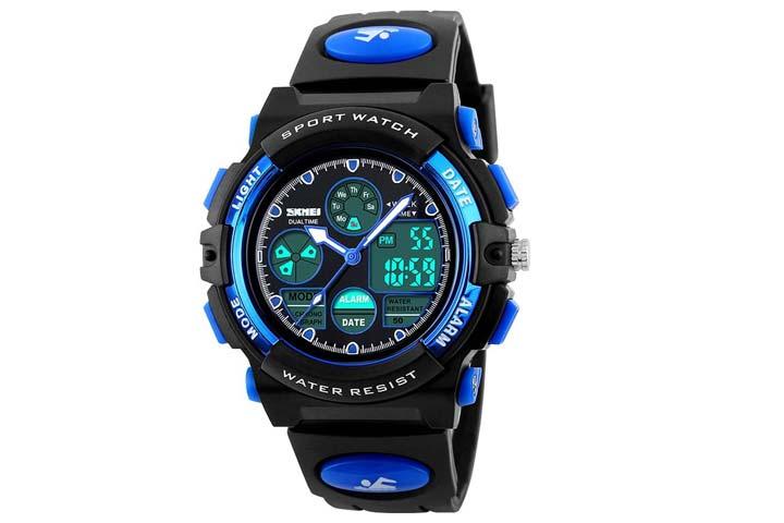 eYotto Kids Sports Multi-Function Analog Digital Wristwatch