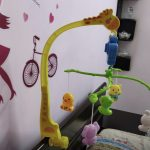BabyGo Rotating Giraffe Musical Rattle Cot Mobile for Cradle-Baby go cradle-By sonisejwal