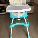 R for Rabbit Cherry Berry Grand Convertible High Chair-Excellent-By jayasree0806