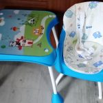 R for Rabbit Cherry Berry Grand Convertible High Chair-R for Rabbit Cherry Berry Grand The Convertible 4 in 1 High Chair Elephant Print-By rajeswaritcode