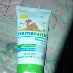 Mamaearth Mineral Based Sunscreen for Babies-Best sunscreen-By sakshi116
