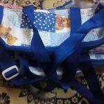 Sapphire Diaper Bag Bear Print-Nice blue bag-By sameera_pathan