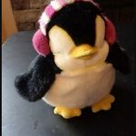 Dimpy Stuff Penguin With Ear Muffs-Cute penguin-By