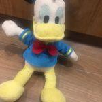 Disney Soft Toy Donald Flopsie-Nice donald-By