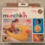 Munchkin White Hot Inflatable Safety Duck Tub-Nice duck tub-By
