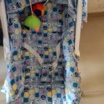 EhomeKart 10 In 1 Baby Bear Print Carry Cot Cum Bouncer-Nice carry cot-By