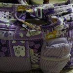 Ole Baby Multi Utility Diaper Bag Heart Print-Nice diaper bag-By sameera_pathan
