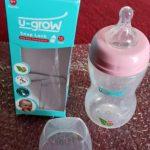 U-Grow Wide Neck Baby Feeding Bottle-Nice u grow bottle-By
