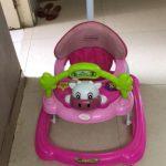 Babyhug Mini Steps Walker Cum Rocker With Parent Push Handle-Nice pink Walker-By sameera_pathan