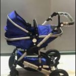 Babyhug 2 in 1 Royal Ride Stroller Cum Convertible Carry Cot-Good-By