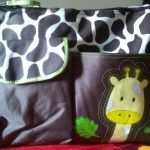 Tiger Print Diaper Bag With Chaning Mat-Nice bag-By sumi