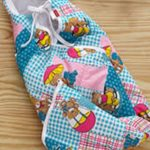 Babyhug Hooded Quilted Wrapper-Soft wrapper-By sumi