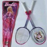 Barbie Badminton Racket With Cover-Nice barbie racket-By sameera_pathan
