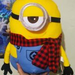 Minions Stuart Plush Soft Toy-Cute minion-By