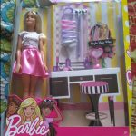 Barbie Playset With Doll-Barbie play set-By