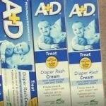 A+D Diaper Rash Cream, Dimethicone Zinc Oxide Cream-Effective in rashes-By sameera_pathan