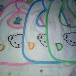 Polka Tots Cotton Bibs-Nice cotton bibs-By