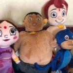 Chhota Bheem Kalia Plush Toy-Lovely kalia-By sumi