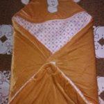 My NewBorn Hooded Wrapper Cum Fleece Blanket-Nice wrapper cum blanket-By sameera_pathan