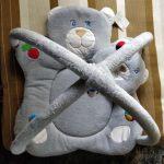 Amardeep Baby Play Gym Cum Bedding Teddy Design-Nice baby gym-By sumi