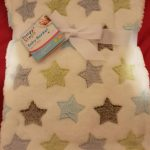 1st Step Fleece Blanket Fish Embroidered-Nice blanket-By