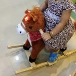 Toyshine Sunshine Horse Mini Wooden Rocker With Music and Light-Mini horse-By