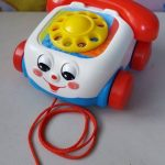 Fisher Price Pull Along Chatter Toy Telephone-Nice toy telephone-By sameera_pathan