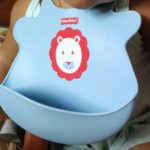 Fisher-Price Ultra Care Baby Bib with Pocket - Waterproof-Nice bib with pockets-By
