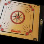 GSI Khel Mandir Gloss Finish Carrom Board With Accessories-Nice carrom board-By sumi