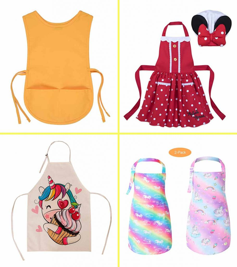 Cookies and Milk Child Full Apron