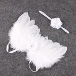 Bembika Angel Wings and Headband Baby Photography Props-Photography prop-By amarjeet