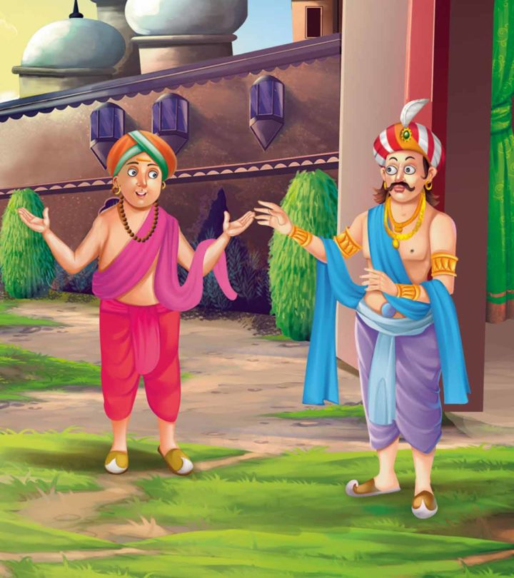 Funny And Witty Tenali Rama Stories In English, For Kids