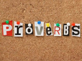 30 Best English Proverbs For Children, With Meanings