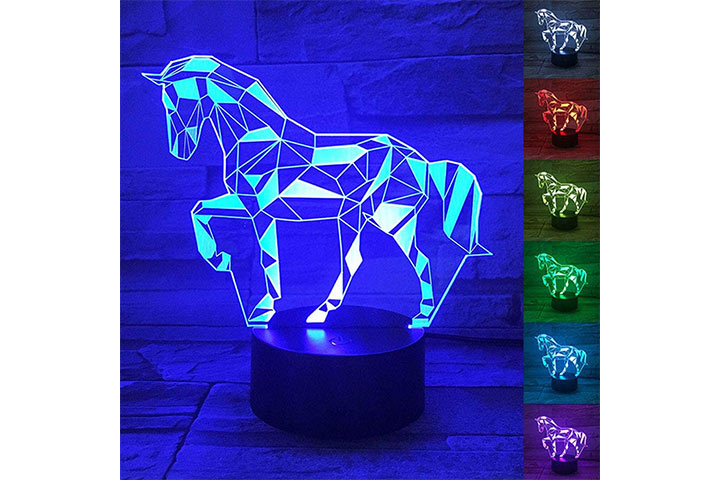 3D Horse Lamp From WANTASTE