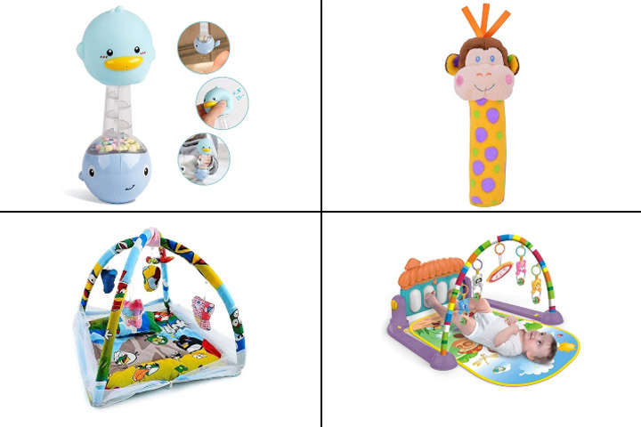 4 Months Baby Toys