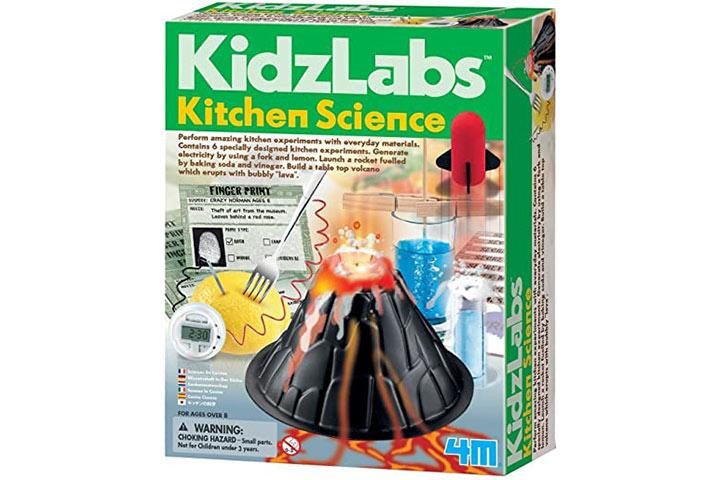 4M KidzLabs Kitchen Science Kit
