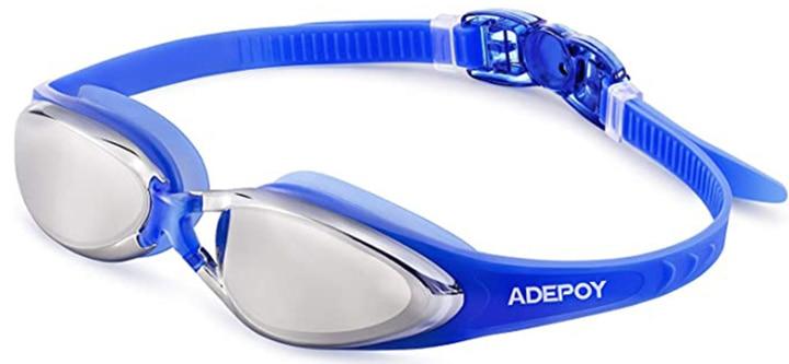 Adepoy Swim Goggles, Anti Fog No Leaking Swimming Goggles