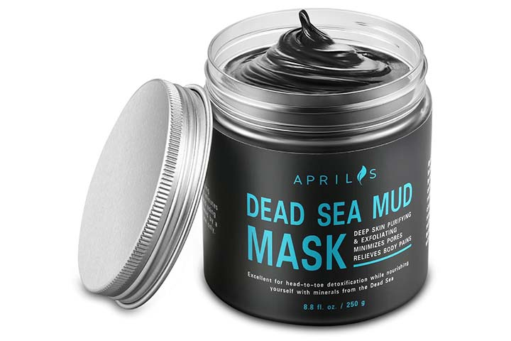 Aprilis Dead Sea Mud Mask with Activated Charcoal
