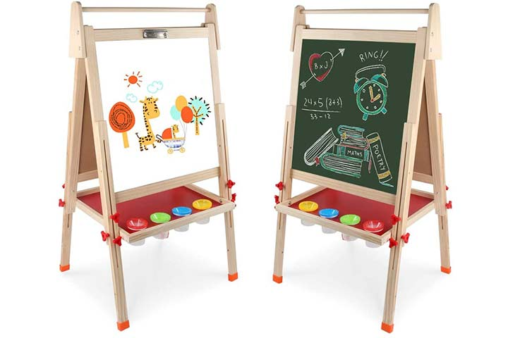 Arkmiido Easel With Double-Sided Board