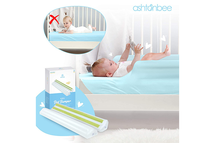 Ashtonbee Portable Bed Rail For Toddlers