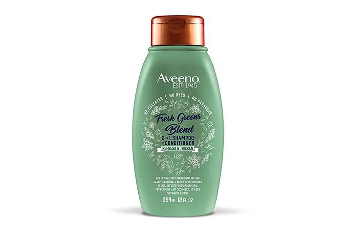 Aveeno Fresh Greens Blend 2-In-1 Shampoo + Conditioner