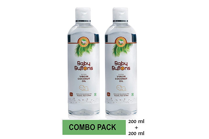 Baby Buttons Extra Virgin Coconut