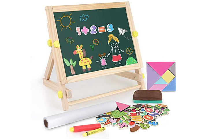 BeeBeeRun Kids Tabletop Easel