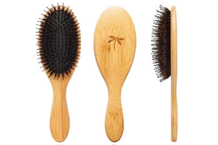 Belula Boar Bristle Hairbrush