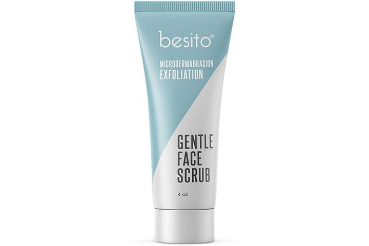 Besito Microdermabrasion Exfoliation Gentle Face Scrub